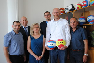 Visit of the President of the Czech Volleyball Federation